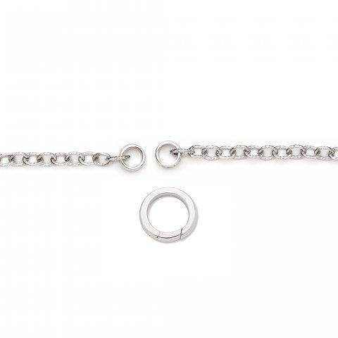 Női mágneses nyaklánc, ajándék kapoccsal
