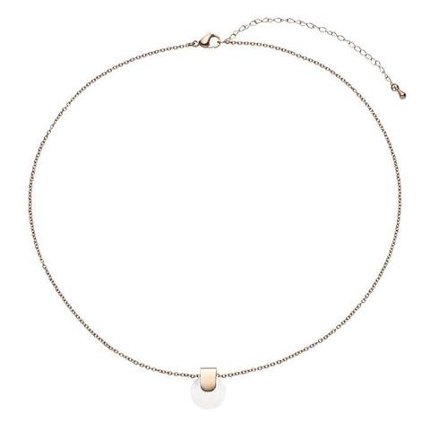 női mágneses rose gold nyaklánc medállal